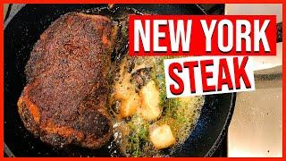How to cook New York strip steak | Best New York Steak Recipe