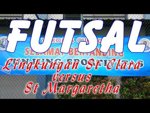Yakobus Cup 2017 Pertandingan Footsal  Bapak-Bapak Lingkungan St Clara vs St Margaretha