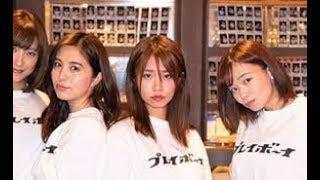 10月20日、東京・歌舞伎町「週プレ酒場」にて、菜乃花、和地つかさ...