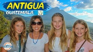 Antigua Guatemala Travel Guide - Step Into Europe in Central America | 90+ Countries with 3 Kids