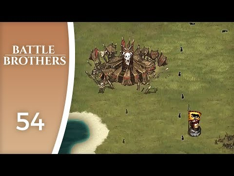The city of the orcs - Let's Play Battle Brothers #54