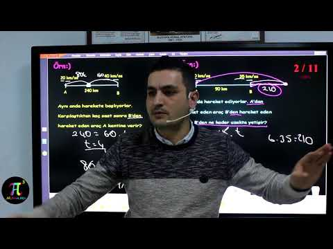 Problemler 14(Hız Problemleri) I Ali Ahsen Akti