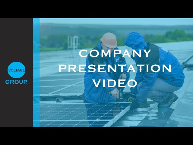 Voltage Group Solar Power Profile Video (English Version)