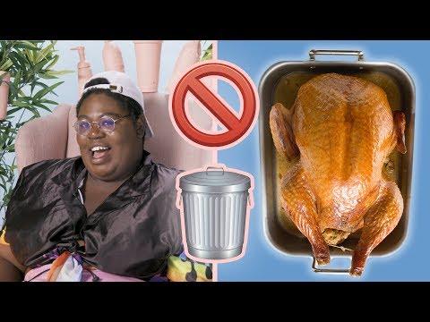 I Tried To Cook A Turkey With Zero Trash