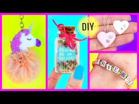 4 Easy DIY GIFT IDEAS FOR YOUR BEST FRIEND!