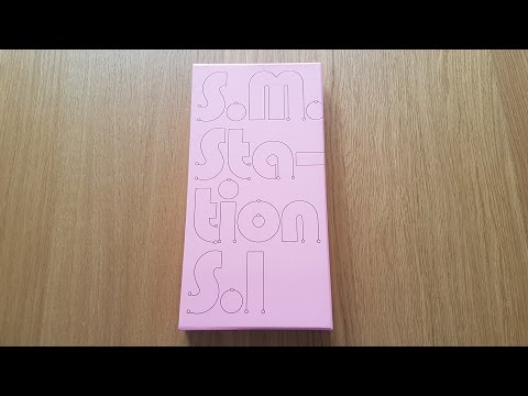 Unboxing S.M. STATION 1st Studio Album Season 1
