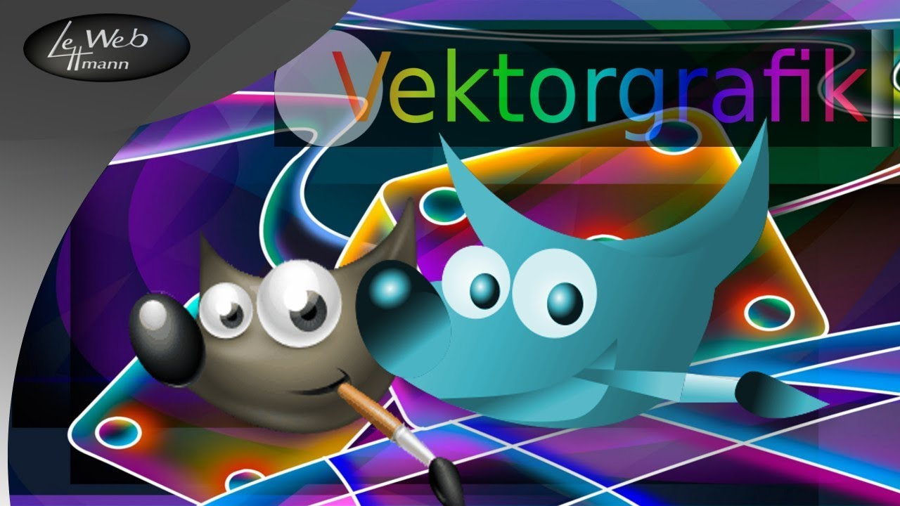 gimp als vektorgrafik programm bildbearbeitung tutorial youtube zeichenprogramm osterhase vektor