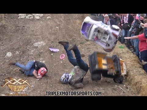 MOST EPIC BARBIE JEEP CRASH COMPILATION!!