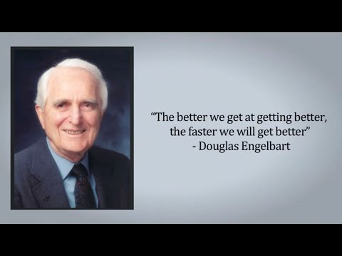 Doug Engelbart - A New Paradigm for Humanity's Collective IQ