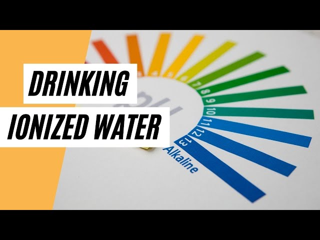 Reasons To Start Drinking Ionized Water  (Healthy Water)
