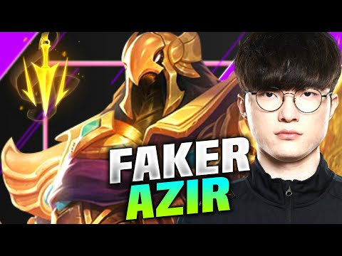 FAKER THE EMPEROR OF SHURIMA! - T1 Faker Plays Azir vs Sylas! | KR SoloQ Patch 10.16