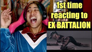 FIRST TIME REACTING TO EX BATTALLION (HAYAAN MO SILA, DI AKO FXXKBOY, BOOTYFUL, COME WITH ME)