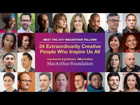 Meet the 2017 MacArthur Fellows