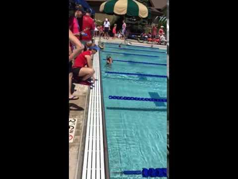 Swimmers Hit Head