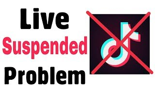 Tiktok Problem | Fix Live is Suspended | Disable | I cannot go live Problem