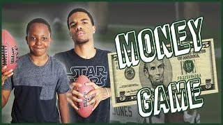 Madden 10 Gameplay Trent vs Juice -  TRASH TALKING MONEY GAME!!