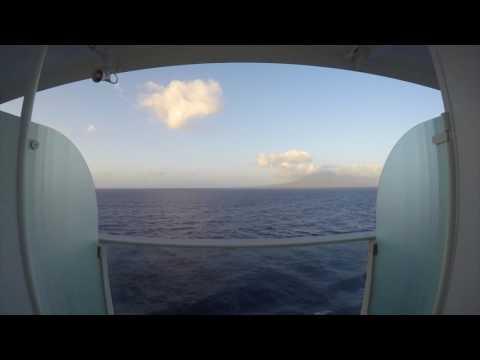 Time-Lapse - Leaving St. Kitts