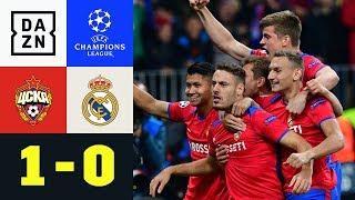 Nach Toni-Kroos-Fehler! ZSKA schockt Real: ZSKA Moskau - Real Madrid 1:0 | UEFA CL | DAZN Highlights