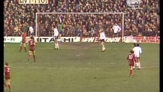 06-12-1980 Liverpool v Tottenham Hotspur