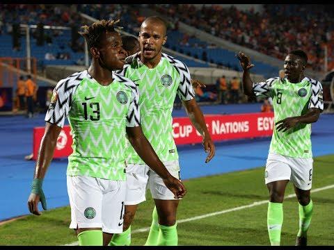 Nigeria v South Africa (2-1) - Total AFCON 2019 - QF2
