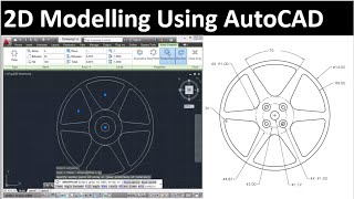 2d Drawing Using Autocad: Drawing 2