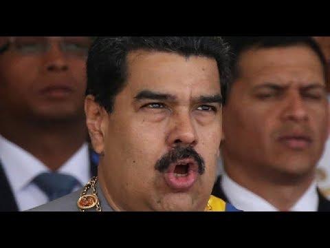 """Maduro a los GRITOS: """"Quien DESTRUYÓ AMERICA?!? Quien DESTRUYÓ Africa?!?"""""""