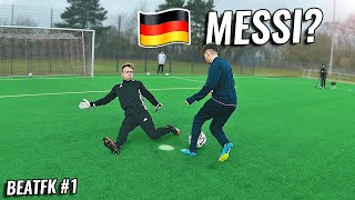 This 16 year old could become the German Messi | #BEATFK Ep.1