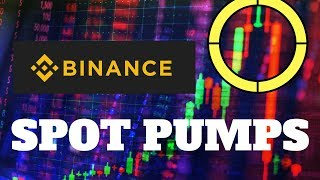 Profit From Pumps On Binance Day Trading Cryptocurrency