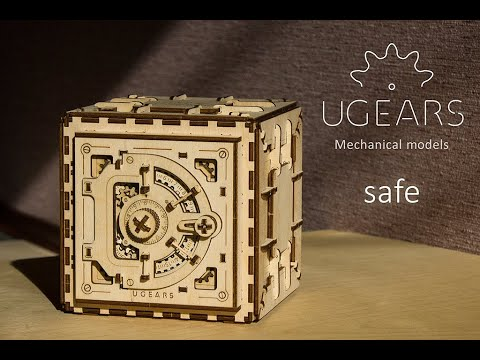Ugears Safe - Assembly Video | STEM Learning Puzzle Lock Educational Kit | Proposal Puzzle Box