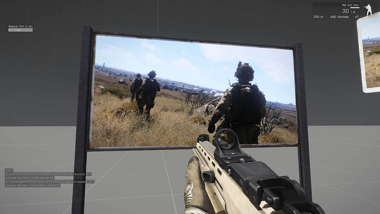 Execut Script placed on WebSpace - ARMA 3 - MISSION EDITING