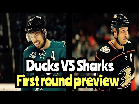 NHL Playoff Preview Anaheim Ducks VS San Jose Sharks