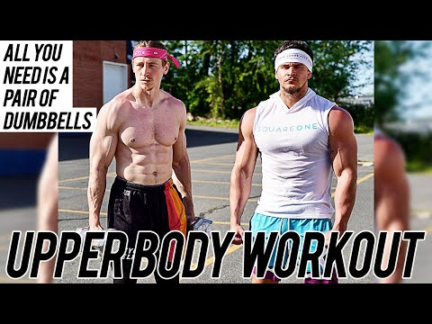 INTENSE UPPER BODY WORKOUT | PAIR OF DUMBBELLS ONLY | THE LOST BREED