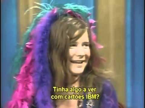 Janis Joplin -  Entrevista no Dick Cavett Show 1970 - Legendado PT