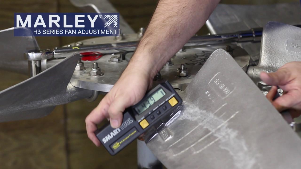 Marley H3 Fan Blade Pitch Adjustment