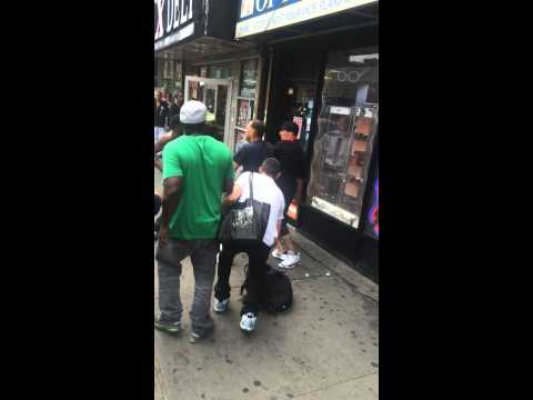125th Street Harlem fight