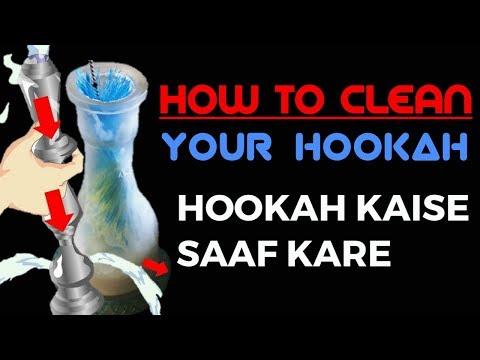 HOW TO CLEAN HOOKAH | HOOKAH SETUP | HOW TO CLEAN HOOKAH BASE | HOW TO MAKE HOOKAH |