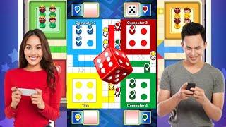 Ludo games v/s Computer player |ludo Green, ludo Yellow, ludo Blue and ludo Red