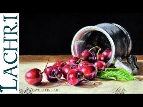 Drawing Cherries with