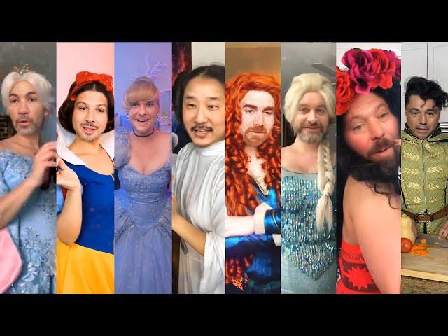 Podcast Princesses - Don't Rush Challenge Disney - Joe Rogan Theo Von Bobby Lee Tom Segura and More