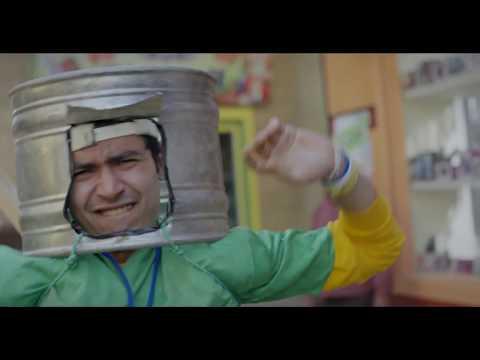 مشهد أكشن كوميدي في بداية حلقات مسلسل #أزمة نسب للنجم محمود عبد المغني والنجم محمد أنور