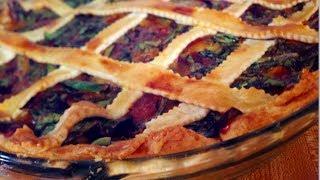 How To Make La Quiche - Creamy Spinach & Caramelized Onions