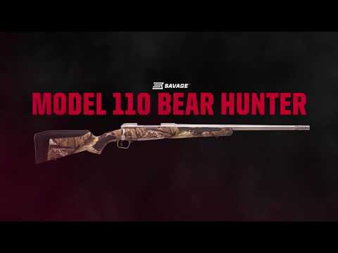 The New Savage Model110 Bear Hunter