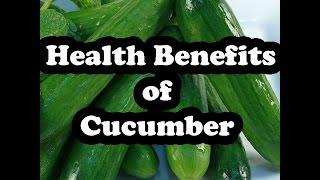 15 Health Benefits of Cucumbers