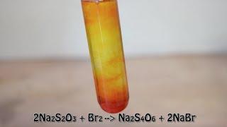 Neutralization of Bromine - Beautiful Reaction