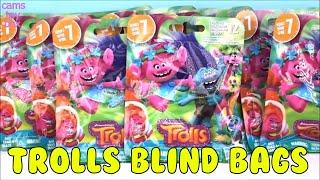 Trolls Series 7 Dreamworks BLIND Bags Opening