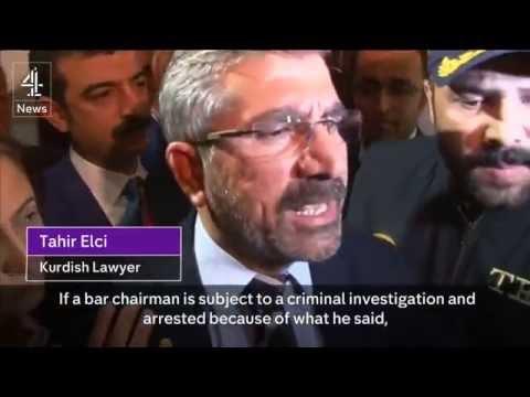 Kurdish lawyer killed during press conference