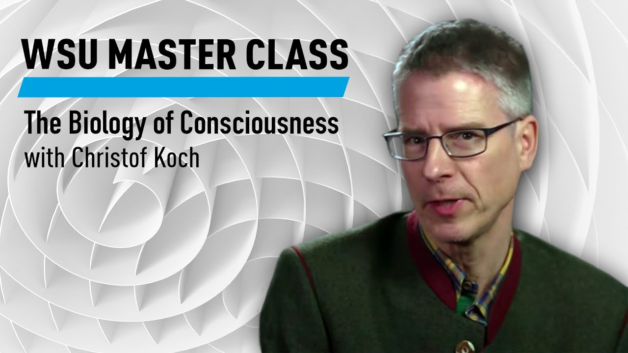 WSU: The Biology of Consciousness with Christof Koch