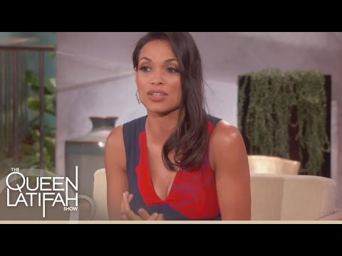 Rosario Dawson On Her Difficult Childhood | The Queen Latifah Show