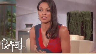Rosario Dawson On Her Difficult Childhood  The Queen Latifah Show