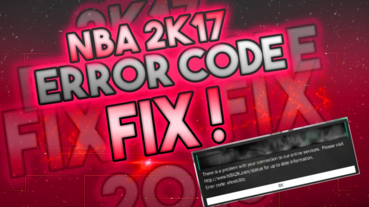 How to fix NBA 2k17 Error code 4b538e50 XBOX ONE PS4 100% FIX - YouTube